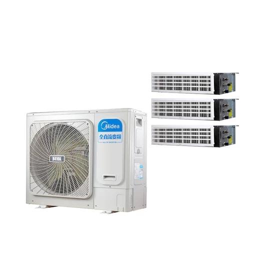 美的家用中央空调 MDS-H100W(E1)一拖三 变频 4匹